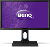 "Монитор Benq 23.8"" BL2420PT черный 2560x1440, IPS, 300cd, DVI, HDMI, M/M, HAS Pivot, D-Sub, DisplayPort, USB"