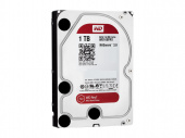 Жесткий диск S-ATA III 1Tb 5400, 64Mb, WD10EFRX, WD Red NAS
